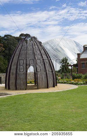 Bicentennial Conservatory And Hut, Adelaide Botanic Garden, South Australia