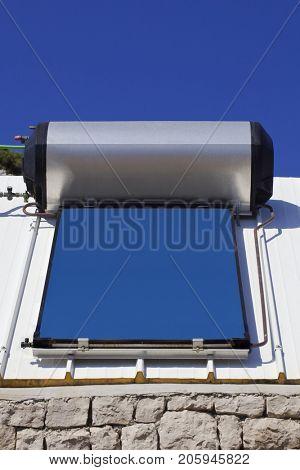 Solar Water Heater Panel Boiler