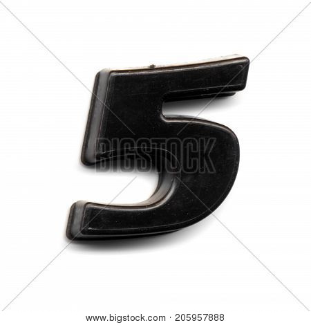 Plastic Magnetic Number 5