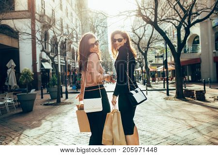 Best Friends Shopping In The City