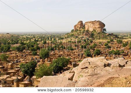 Dogon village Songo in Mali, Africa
