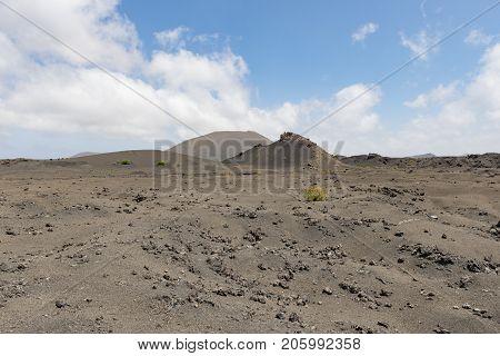 Martian Style Landscape