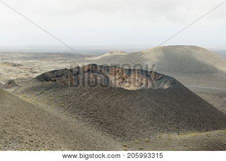 Volcano Crater , Lanzarote