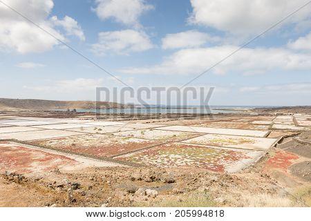 Salinas De Janubio Salt Pans