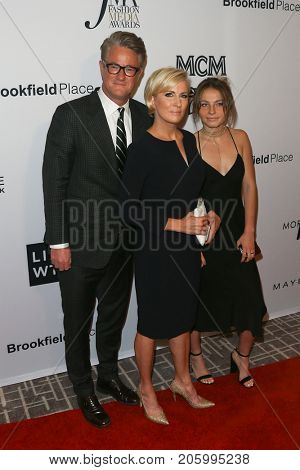 NEW YORK-SEP 8: Joe Scarborough, Mika Brzezinski and Carlie Hoffer attend the Daily Front Row's 2017 Fashion Media Awards at Four Seasons Hotel New York Downtown on September 8, 2017 in New York City.