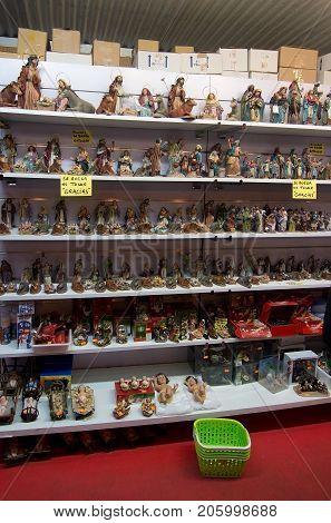 Plaza Mayor Christmas Market Vendor Booths