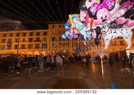 Plaza Mayor Christmas Market