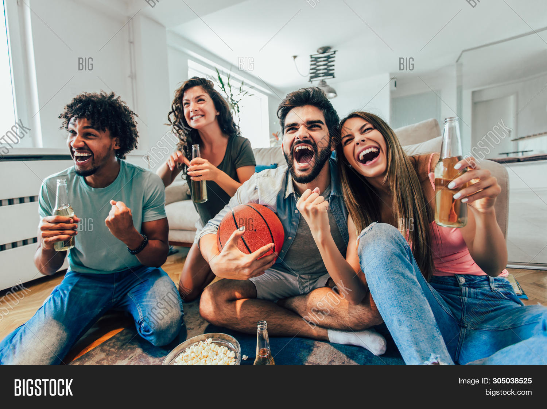 Happy Friends Image Photo Free Trial Bigstock