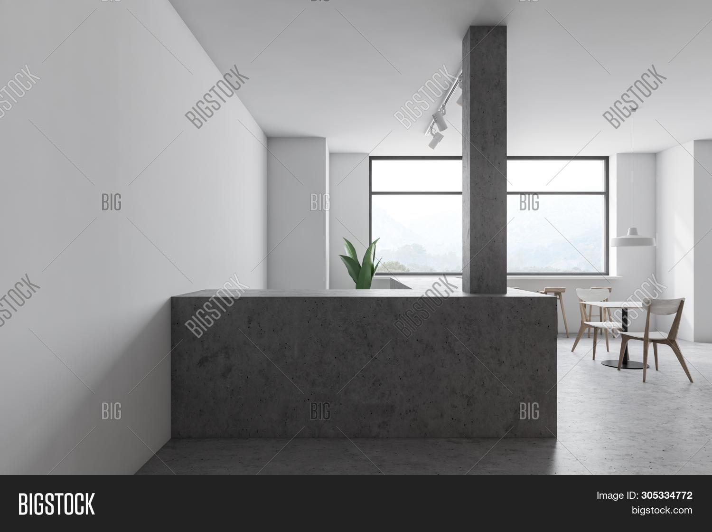 Minimalistic Concrete Image Photo Free Trial Bigstock