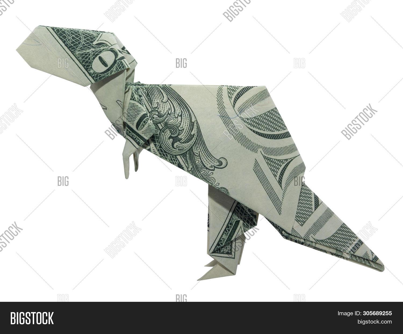 Origami T-Rex Dinosaur by Maekawa Jun - Yakomoga Origami tutorial ... | 1245x1500
