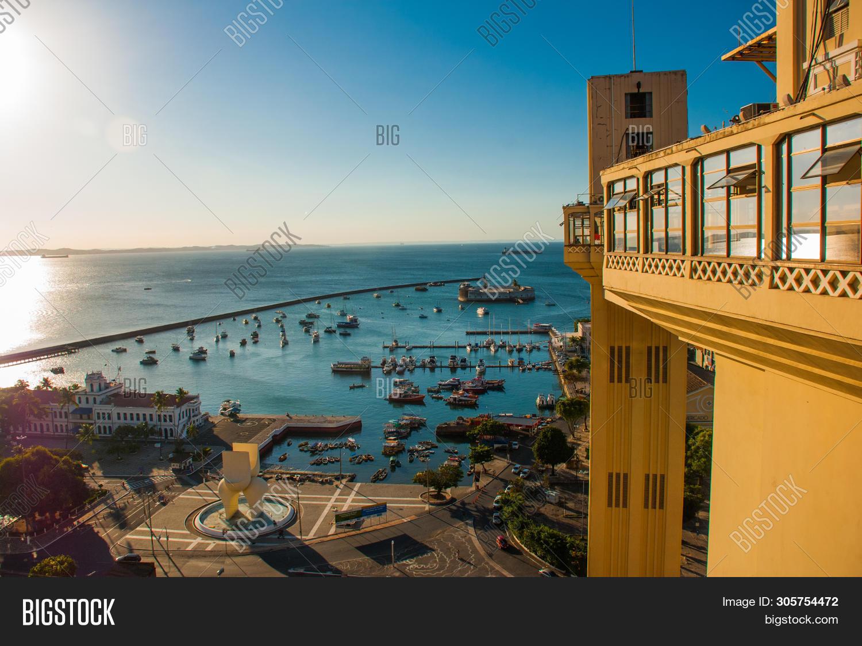 Salvador Brazil Fort Image Photo Free Trial Bigstock