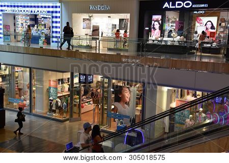 Houston, Tx - Apr 22: The Galleria Mall In Houston, Texas, As Seen On Apr 22, 2019. It Is An Upscale