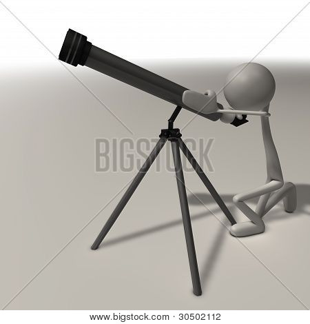 Man With A Telescope