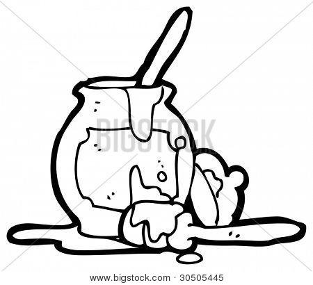 Honey Pot Cartoon Image & Photo (Free Trial) | Bigstock
