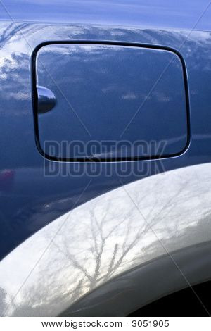 Car Gas Tank Detail