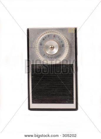 Retro Portable Transistor Radio