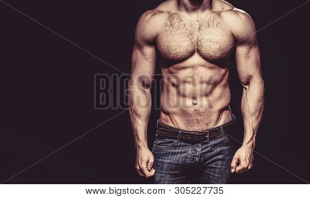 Beautiful Male Torso. Sexy Man, Naked Body, Nude Male. Sexy Body, Nude Man, Naked Male, Muscled. Str