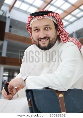 Arabic businessman Middle east