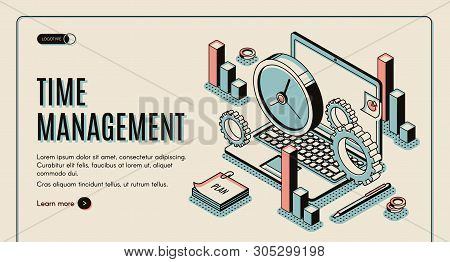 Time Management Vector & Photo (Free Trial) | Bigstock