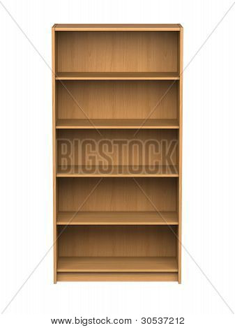 Bookshelf - Isolated