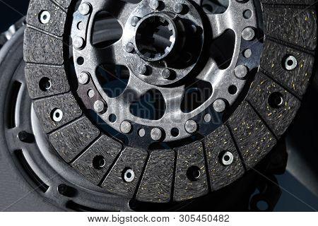 Car Part Close-up Clutch Disc, Luxury Car Parts