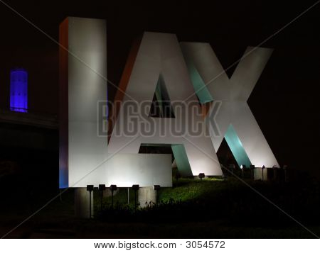 LAX Entrance in Los Angeles