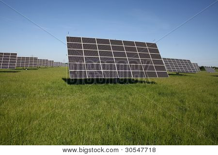 Field Area For Solar Installations