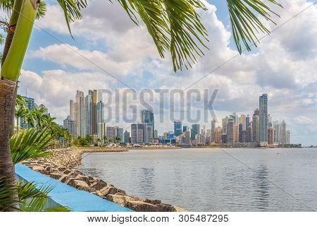 View At The Downtown Of Panama City, Panama