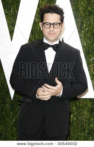 LOS ANGELES - FEB 26:  J.J. Abrams arrives at the 2012 Vanity Fair Oscar Party  at the Sunset Tower on February 26, 2012 in West Hollywood, CA
