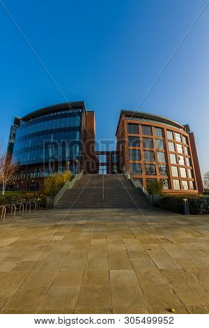 Editorial, Cheshire West And Chester Council Offices, Portrait, Wide Angle, Copyspace