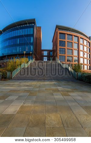 Editorial, Cheshire West And Chester Council Offices, Portrait, Wide Angle