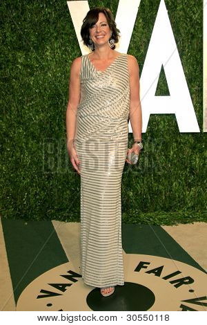 LOS ANGELES - FEB 26:  Allison Janney arrives at the 2012 Vanity Fair Oscar Party  at the Sunset Tower on February 26, 2012 in West Hollywood, CA