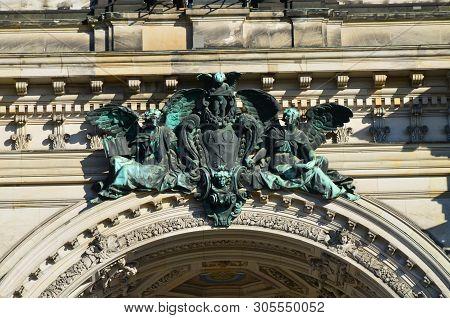 Berlin, Germany - 11.13.2016: Berlin Cathedral Church Berliner Dom