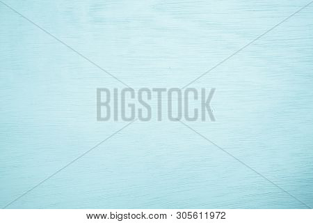 Pastel Blue Wooden Wall Texture Background.