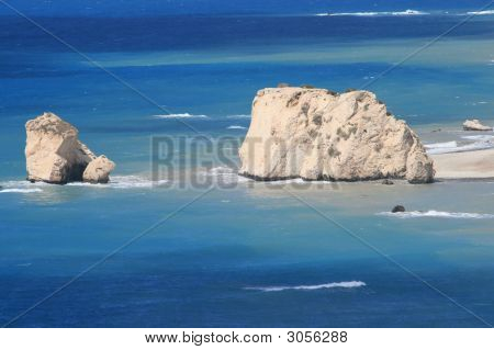 Cyprus  Aphrodites Rock