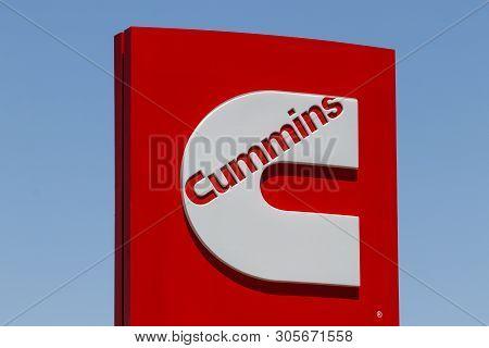 Las Vegas - Circa June 2019: Cummins Inc. Signage And Logo. Cummins Is A Manufacturer Of Engines And