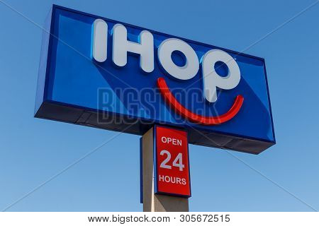 Las Vegas - Circa June 2019: Ihop Pancake Restaurant. International House Of Pancakes Is Expanding T