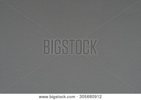 Cement Walls Painted In Gray , Concrete Texture For Pattern And Background.