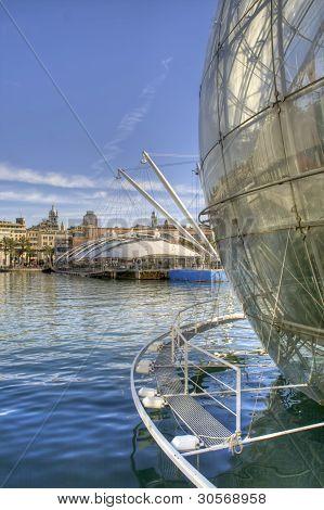 Old Port Genoa
