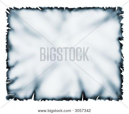Blue Burn Paper
