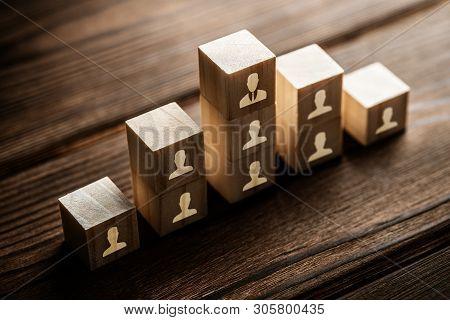 Human Resources Hr Management Recruitment Employment Concept