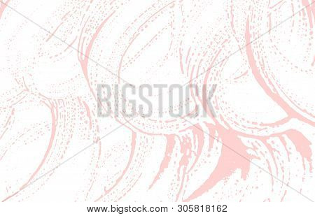 Grunge texture. Distress pink rough trace. Fascinating background. Noise dirty grunge texture. Cool artistic surface. Vector illustration. poster