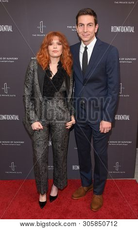 LOS ANGELES - JUN 09:  Natasha Lyonne and Chris Teague arrives for the 'Below the Line Talent' FYC Event on June 09, 2019 in Los Angeles, CA
