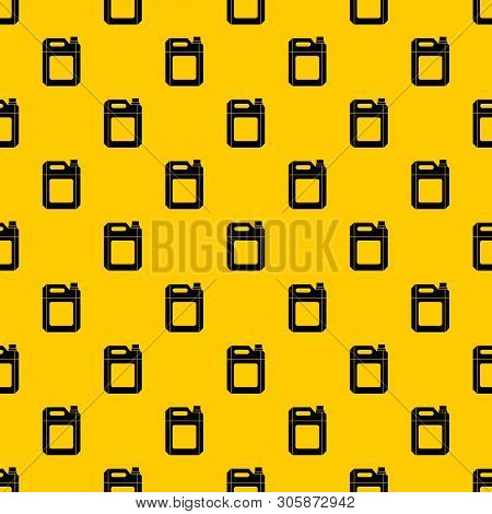 Plastic Jerry Can Pattern Seamless Vector Repeat Geometric Yellow For Any Design