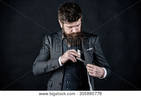 Bearded Man Bachelor Drink Alcohol. Bachelor And Single. Brutal Caucasian Hipster Has Bad Addiction.