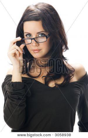 Taking Off Glasses