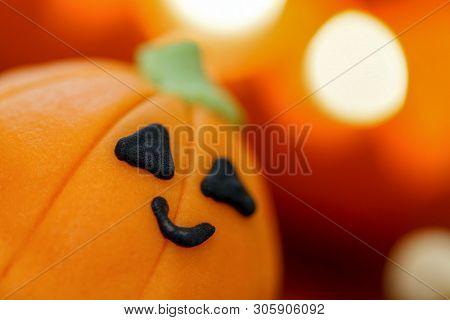 Sweet Pumpkin Shape For Children In Haloween