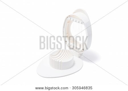 Egg Slice Or Egg Cutter For Cutting Boiled Eggs