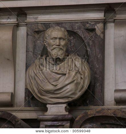 Bust of Michelangelo