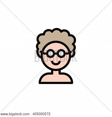 Mothers Day Grandmother Outline Icon. Element Of Mothers Day Illustration Icon. Signs And Symbols Ca